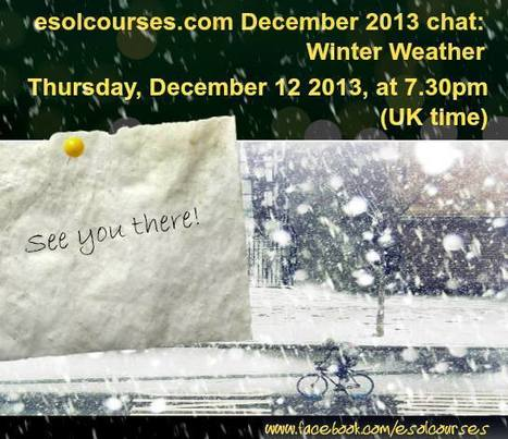 Winter Weather FB Chat - 12/12/2013 | Topical English Activities | Scoop.it