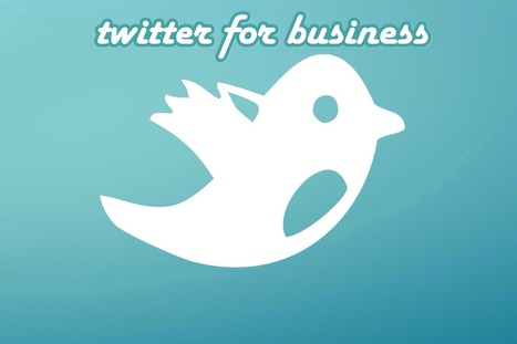 New Business and Twitter | Social Media Today | social media | Scoop.it