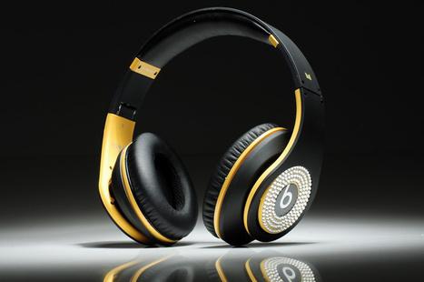 Beats Studio Headphones Black Yellow With Diamond Edition | Cheap Beats Studio Diamond for sale | Scoop.it