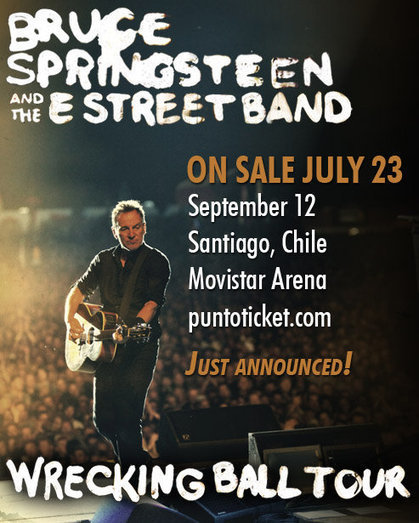 Bruce Springsteen plays five songs from 'Nebraska' album at Belfast show on Saturday - Stan Goldstein | Bruce Springsteen | Scoop.it