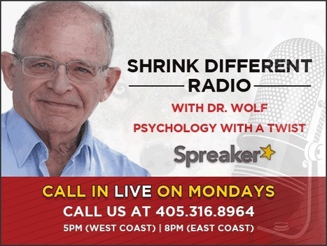 Shrink Different with Doc Wolf   Dr. Steve Wolf, Ph.D   Taming Your Anger   Taming Your Anger - Online Video Training   Scoop.it