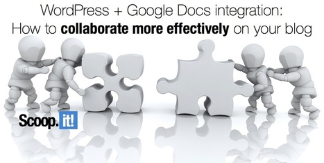 How to make WordPress + Google Docs work for your blog   Tech Education   スリランカにて、英語ベースのプログラミング学校開校!   Scoop.it