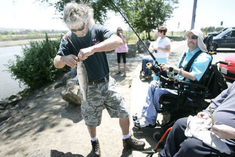 Wheelchair anglers find few spots to safely fish - Napa Valley Register - Napa Valley Register | Universal design | Scoop.it