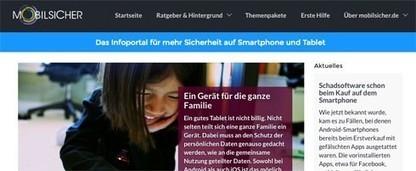 Smartphone und mobile Geräte sicher nutzen: Neue Info-Website mobilsicher.de | LMS & mobile learning | Scoop.it