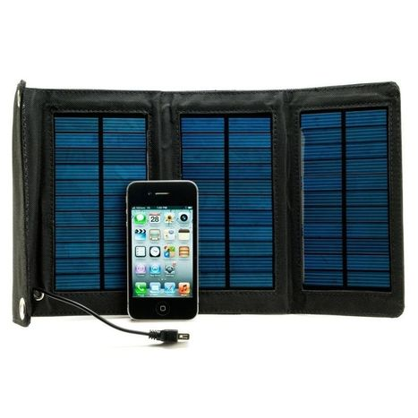 Portable Solar Charger- StrongVolt SOLAR: 3 For Mobile iPhone/iPad/iPod Android | Portable Phone Charger | Scoop.it