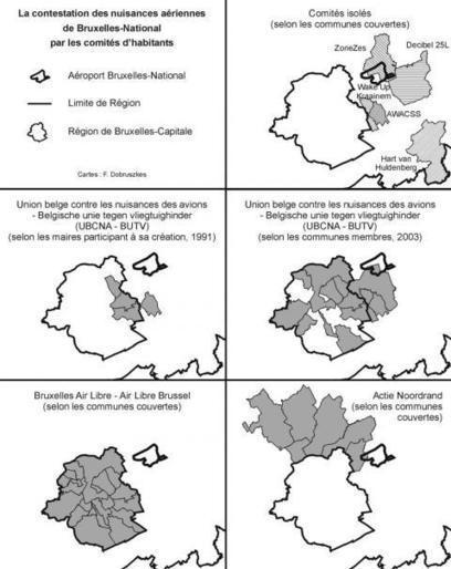 Éléments pour une géographie sociale de la contestation des nuisances aériennes à Bruxelles   Education en Belgique   Scoop.it