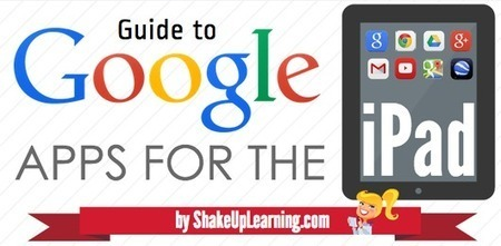 Guide to Google apps for the iPad - Shake Up Learning Blog | Apps for productivity in teaching | Scoop.it