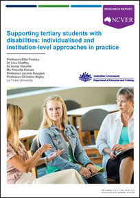 Supporting tertiary students with disabilities: individualised and institution-level approaches in practice | Get Ready for Study and Work with NDCO | Scoop.it