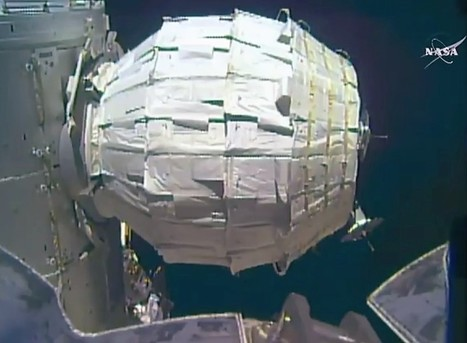 After snags, BEAM space module expands to its full volume – like a bag of popcorn | The NewSpace Daily | Scoop.it