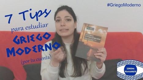 7 TIPS PARA APRENDER #GRIEGO MODERNO POR TU CUENTA | EURICLEA | Scoop.it