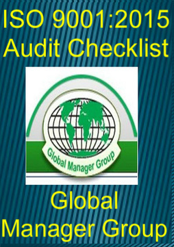 Download ISO 9001:2015 Audit Checklist | Global Manager Group | Scoop.it