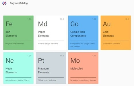 Google's new Polymer library makes it easier to build feature-packed Web apps | Technological Sparks | Scoop.it