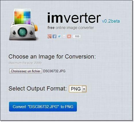Convertisseur en ligne de formats de fichier images. | Time to Learn | Scoop.it