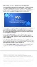 Read Web Development Company India Hire Php Developers Online Free | Internet | YUDU | Web Development Company India | Scoop.it