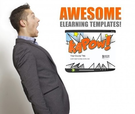 What Makes an Awesome eLearning Template? - eLearning Brothers | eLearning | Scoop.it