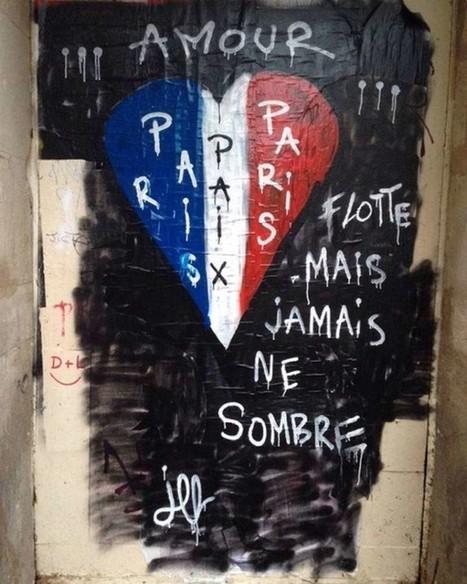 Les street artistes, solidaires du Paris blessé | La mediation | Scoop.it