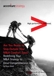 Redefining M&A Strategy to Drive Competitiveness in a Digital World - Accenture   Strategy and Competitive Intelligence by Bonnie Hohhof   Scoop.it