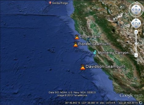 Teaching about the ocean floor with Google Earth | Google Earth Blog | Geospatial Pro - GIS | Scoop.it