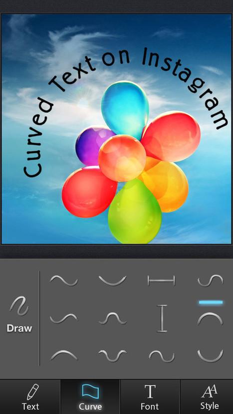 App Shopper: Curvegram - Curved Text for Instagram (Photography) | Smartphone Cases | Scoop.it