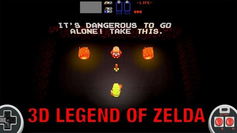 PLAY 3D LEGEND OF ZELDA TRIBUTE GAME IN YOUR BROWSER | [FTH]-NEWS | Scoop.it