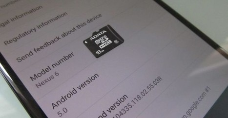 Android 5.0 Lollipop Offers Developers Better Access to SD Card | Technology News | Scoop.it