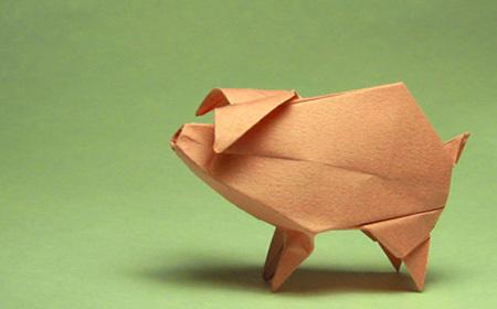 animal's origami   plàstica   Scoop.it