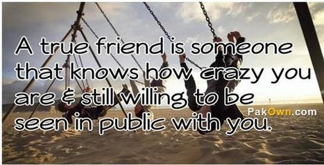 Friendship Quotes | Knowledge and Wisdom | Scoop.it
