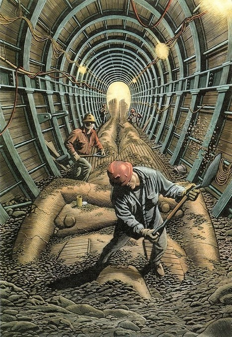 Men at Work by Douglas Smith   Culture and Fun - Art   Scoop.it