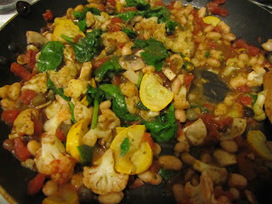 Albion Cooks: White Bean Summer Stew in a Tomato-Caper-Olive Sauce   Food and Drinks   Scoop.it