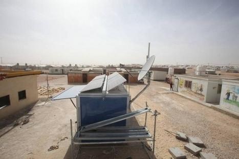 SolarKiosk : une école solaire pour les réfugiés | EFFICYCLE | Scoop.it