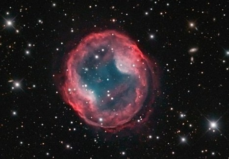 Beautiful Image of a Dying Star Made by Combining Multiple Small Telescopes | Poppi's Astronomy | Scoop.it