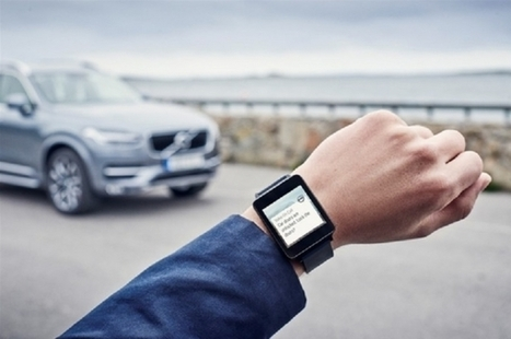 Volvo's on Call App will let you take Control of your Car from your Wrist | Data Centre - Industry | Scoop.it
