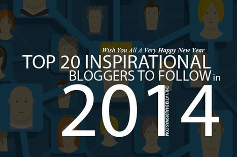 Top 20 Inspirational Bloggers To Follow in 2014 | Basic Blog Tips | Scoop.it