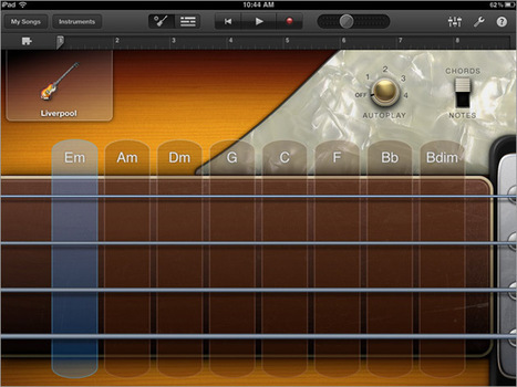 GarageBand For iPad | Guide To Make Your Own Music | TCGeeks | iPad:  mobile Living, Learning, Lurking, Working, Writing, Reading ... | Scoop.it