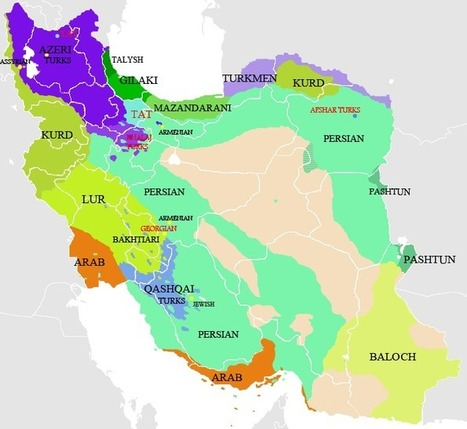 The Balkanization of Iran ▪ Iranian.com | Geospatial Human Geography | Scoop.it