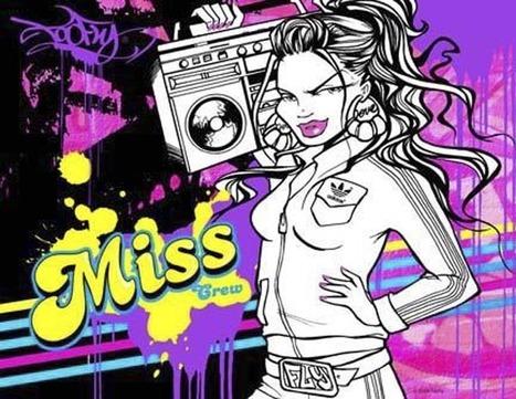Music-Graffiti-Miss-Crew | DESARTSONNANTS - CRÉATION SONORE ET ENVIRONNEMENT - ENVIRONMENTAL SOUND ART - PAYSAGES ET ECOLOGIE SONORE | Scoop.it