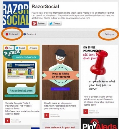 TOOLS - 4 Pinterest Tools to Grow and Measure Your Pinterest Presence   Pinterest for Business   Scoop.it