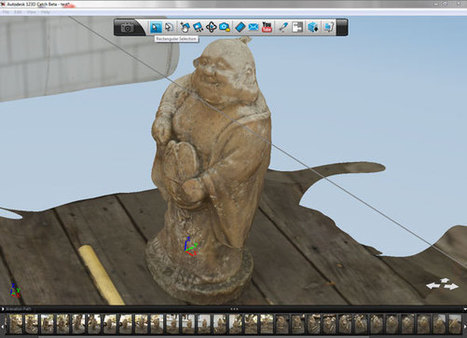 Turn Photos Into 3D Models With Autodesk 123D Catch [Currently Only Windows] | AREality | Scoop.it