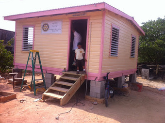Rotary Club of Belize helps to build another home | Discover Belize Travel Magazine | Belize Travel and Vacation | Scoop.it