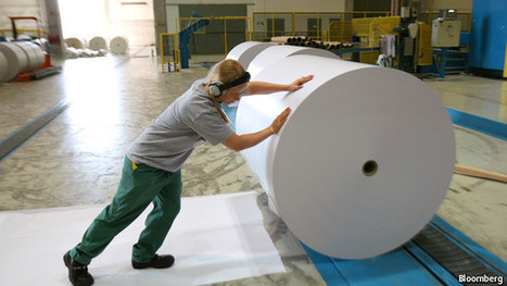 The paper industry and climate change - The Economist | Futuretronium Book | Scoop.it