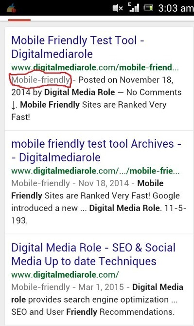 Mobile Friendly Sites are Now SEO Ranking Factor | SEO & Social Media Updates | Scoop.it