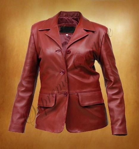 The most astonish Rubicund Front Pockets Women Coat is currently trendy. | WOMEN JACKETS | Scoop.it