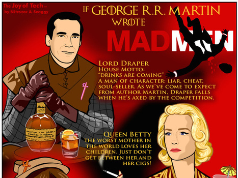 "If George R. R. Martin Wrote ""Mad Men"" (Comic) 