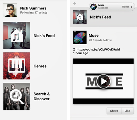 Yap Music offers the simplicity of Instagram as an iPhone music discovery app | The Shape of Music to Come | Scoop.it