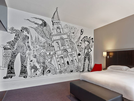 Street Art Goes Off the Streets, Into Hotels | The Urban Canvas | Scoop.it