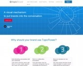 TopicFlower. Developper et visualiser l'influence de sa marque. | Les outils du Web 2.0 | Scoop.it