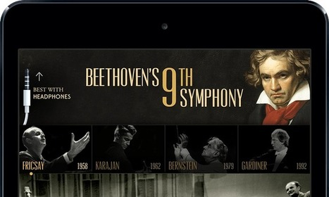 Beethoven's 9th Symphony » The ultimate guide to Beethoven's late masterwork. | Educational ipad apps for parents to use with kids | Scoop.it