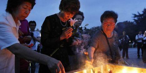 [photos] Le Japon commémore Hiroshima en pensant à Fukushima | LeMonde.fr | Japon : séisme, tsunami & conséquences | Scoop.it