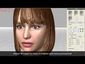 iClone – 3DXchange5 Tutorial – Material Refinement for Daz Character Optimization « Safegaard – Movie Theater   Machinimania   Scoop.it