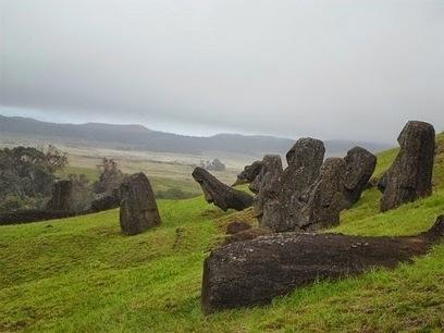La civilisation de l'ile de Pâques n'aurait pas connu un simple effondrement | Les Découvertes Archéologiques (Blog) | Kiosque du monde : A la une | Scoop.it